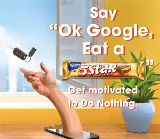 Indulgence meets technology with Cadbury 5Star's latest campaign '5Star Do Nothing Assistant' in association with Google