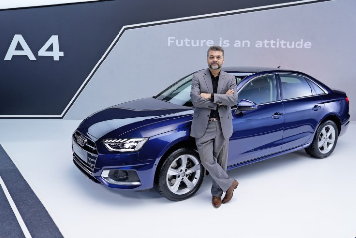 Tech-laden new Audi A4 launched in India