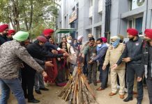 NGO Nanhe Kadam shares happy moments with Commandos on the Eve of Lohri