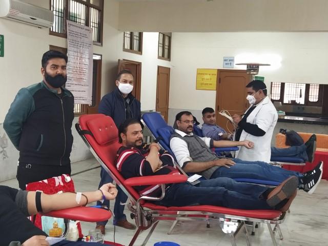 Shri Mahaveer Jain Yuvak Mandal ( MJYM ) organizes 26 th Annual Blood Donation Camp