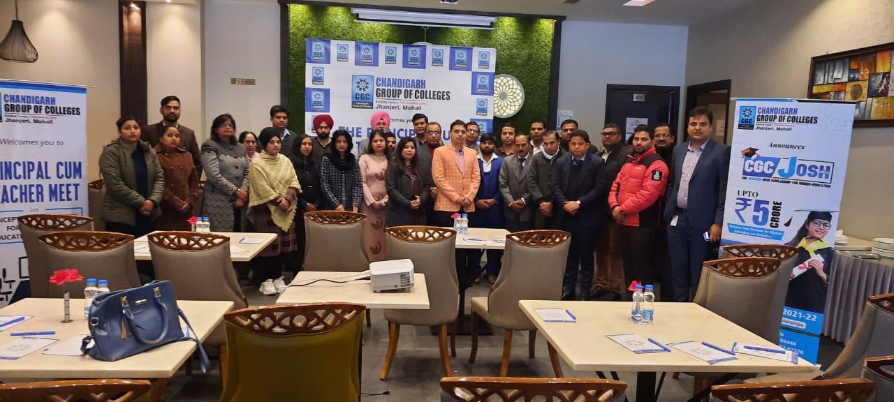 """Principal cum Teachers Meet"" by Chandigarh Group of Colleges"