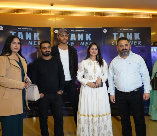 "Hindi suspense thriller 'Tank Cleaner"" gives the message of not doing suicide"