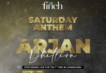 Enjoy Saturday Night with Punjabi Singer - Arjan Dhillon Live at Finch