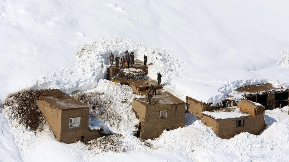 2 killed in Afghanistan avalanche
