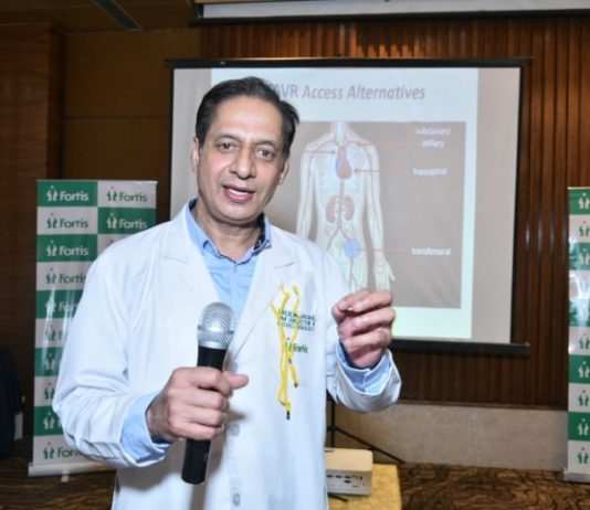 Fortis launches its Non-surgical valve implant clinic for critically ill heart patients