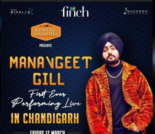 First ever Live performance of Manavgeet Gill at The Finch
