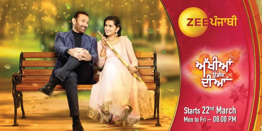 Zee Punjabi is all set to launch a romantic drama show 'Akhiyan Udeek Diyan'