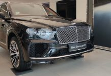 The new Bentley Bentayga and The all-new Bentley Flying Spur in Hyderabad