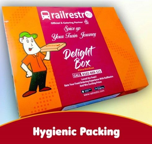 RailRestro delivers regional delicacies in moving trains
