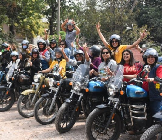 Royal Enfield Community Celebrates Women's Day in Chandigarh