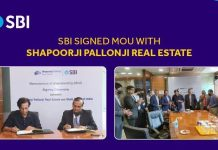 SBI and Shapoorji Pallonji Real Estate sign MoU to offer seamless home buying experience