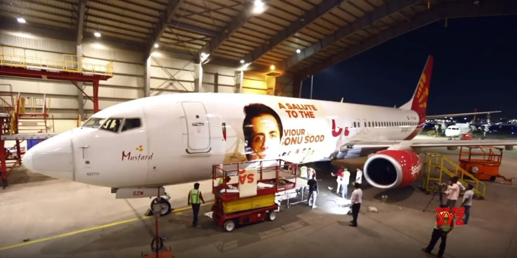 Sonu Sood gets aircraft livery