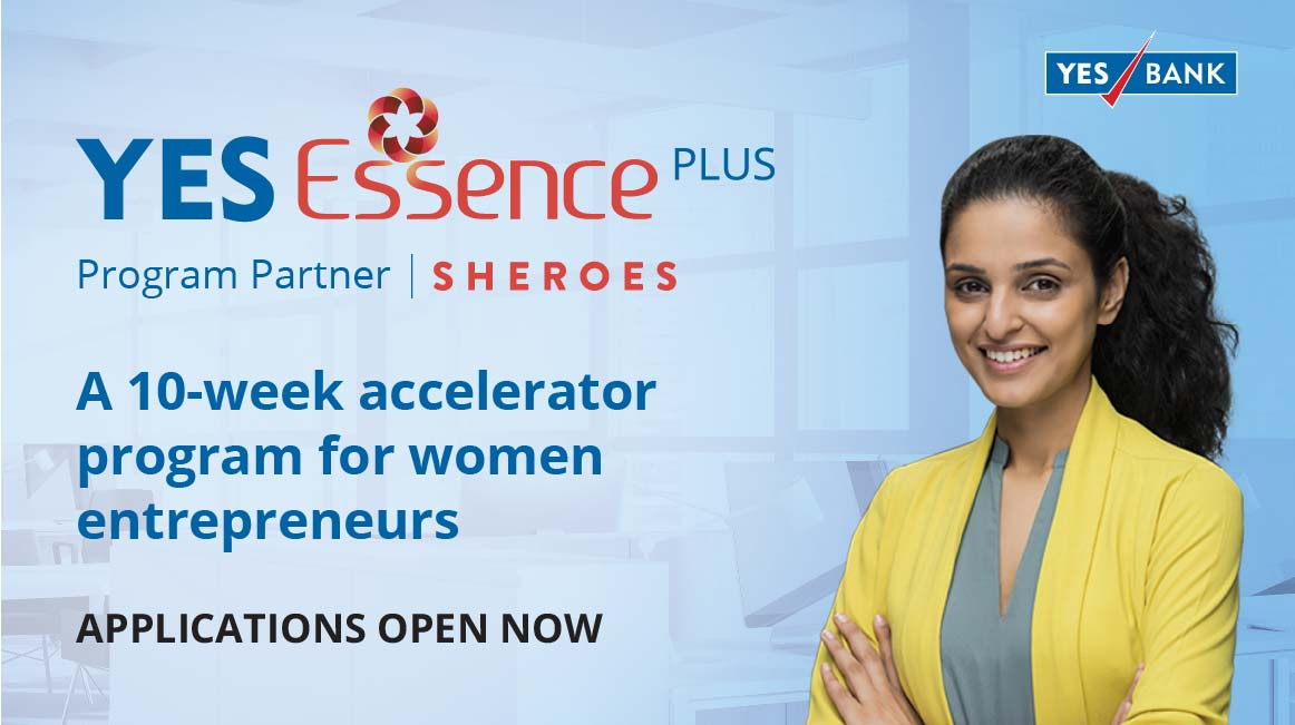 YES BANK and SHEROES launch YES Essence Plus accelerator