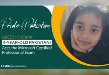4-year-old Pak girl becomes youngest Microsoft professional