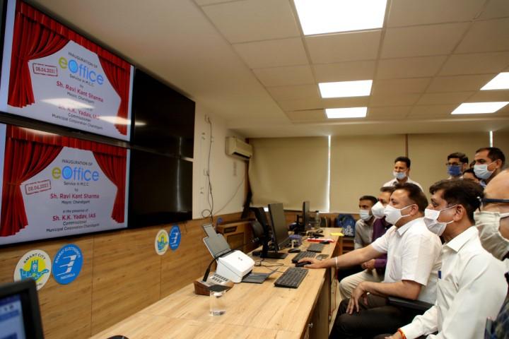 Mayor launches e-Office app across MCC offices