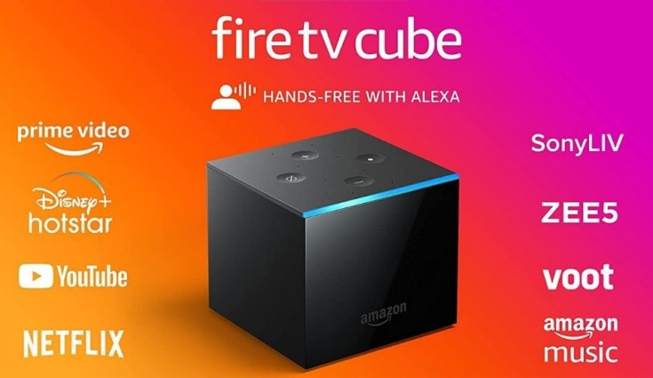 Amazon launches Fire TV Cube in India at Rs 12,999