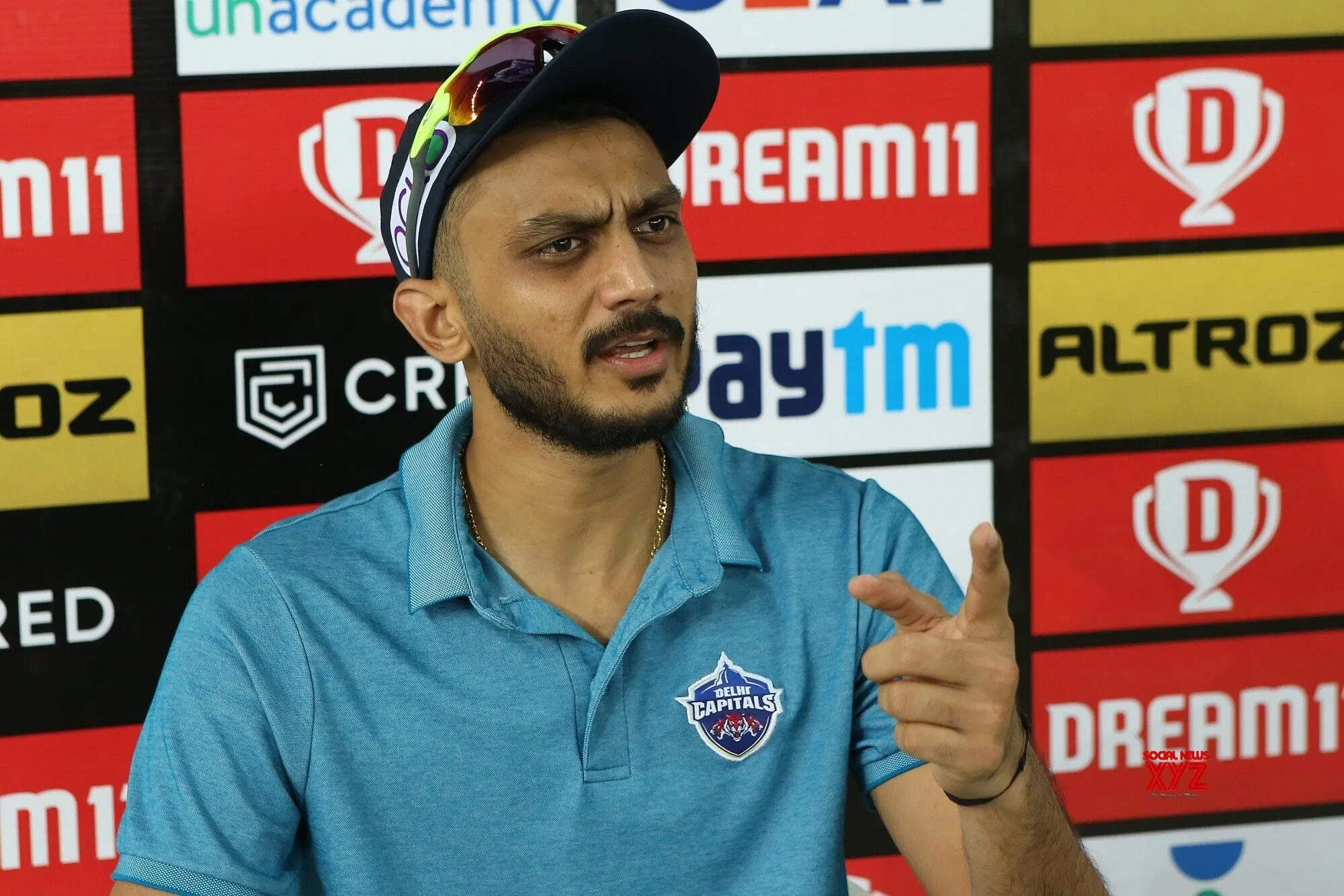 Axar Patel tests positive for Covid-19