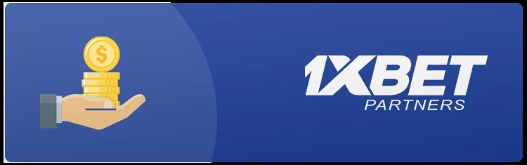 Registration to betting affiliate platform on 1xBet