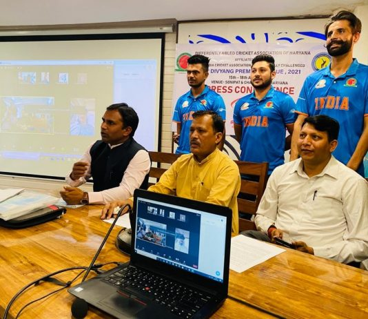 2nd Divyang Premier League (DPL) will be held from April 15-18 at Sonipat