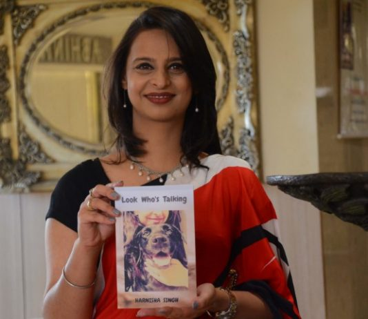 Harnisha Singh's novel Look Who's Talking Released