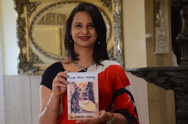 Harnisha Singh's novel Look Who's Talking Released
