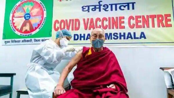Dalai Lama gets second dose of Covid vaccine
