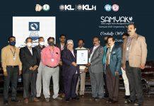 KL University awarded India World Record for SAMYAK-2021