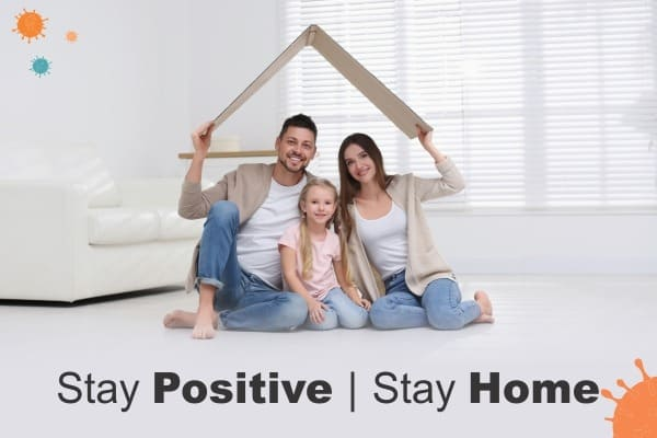 How to maintain positive well-being at home: