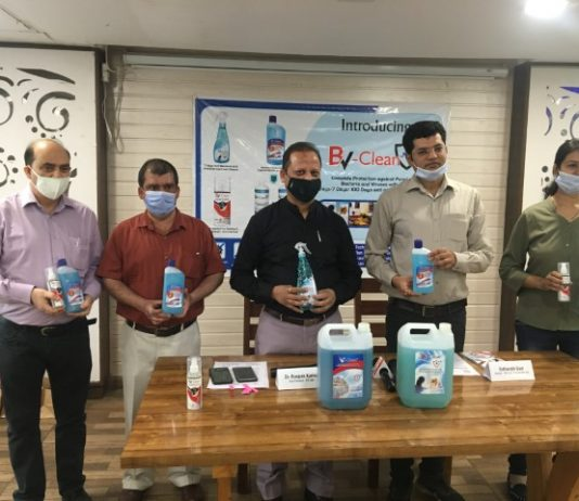 Mint Life Sciences launch BV-Clean (Bacteria and Virus Clean) which last for 7 days