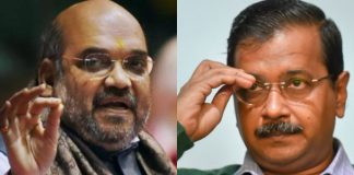 Kejriwal speaks to Shah