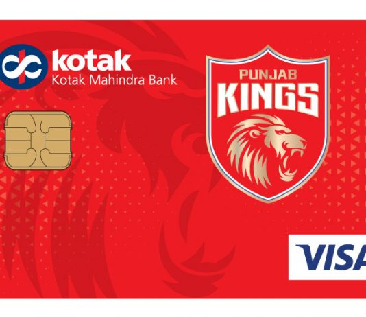 Special Debit & Credit Cards launched by Kotak for Punjab Kings Fans