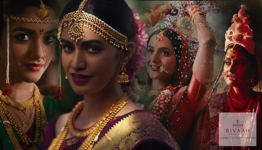 Tanishq reinvents its Wedding Brand RIVAAH in a new Avatar