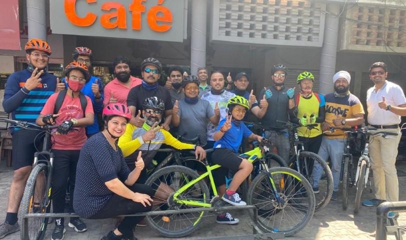 Chandigarh's cyclists will rally upto Fagu (Shimla) to spread awareness on Drug Abuse