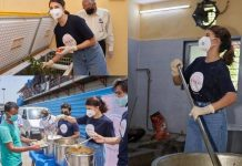 Jacqueline Fernandez Help Prepare Meal For Needy In Covid Crisis
