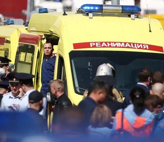 11 killed in Russia school shooting