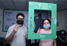 300 COVID Vaccinations for 18 Plus at Fortis Mohali