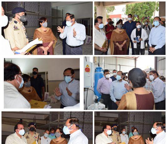 Advisor Bhatnagar Visits District Samba