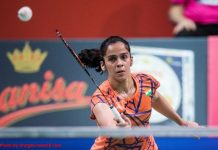 Blow for Saina