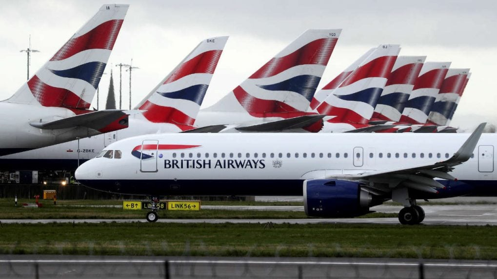 British Airways flight carrying 18 tonnes of aid arrives in India