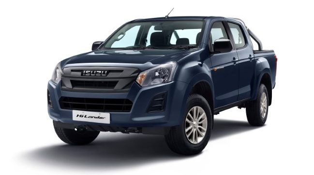 ISUZU launches personal Pick-up vehicles