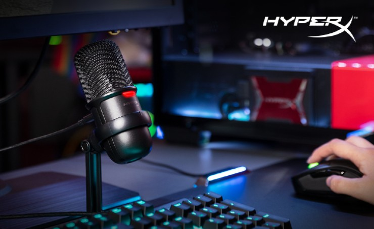 """HyperX unveils new microphone at Rs 15,490: With an aim to boost gamers and content creators, HyperX, the gaming division of Kingston Technology, on Friday expanded its standalone microphone line with the new """"Quadcast S""""."""