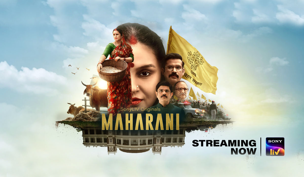 Maharani Web Series Release Date Live Streaming Review Rating Trailer Cast & Crew