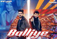 New Punjabi song 'Balliye' released by SpotlampE