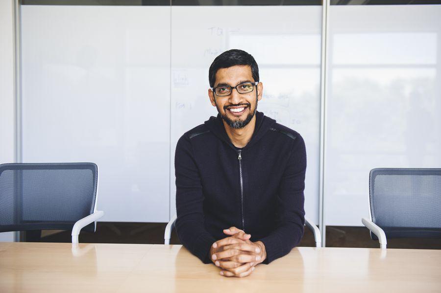Sundar Pichai draws roadmap for future of work at Google I/O