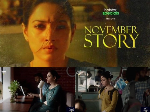 Why Tamannaah Bhatia is excited about 'November Story'