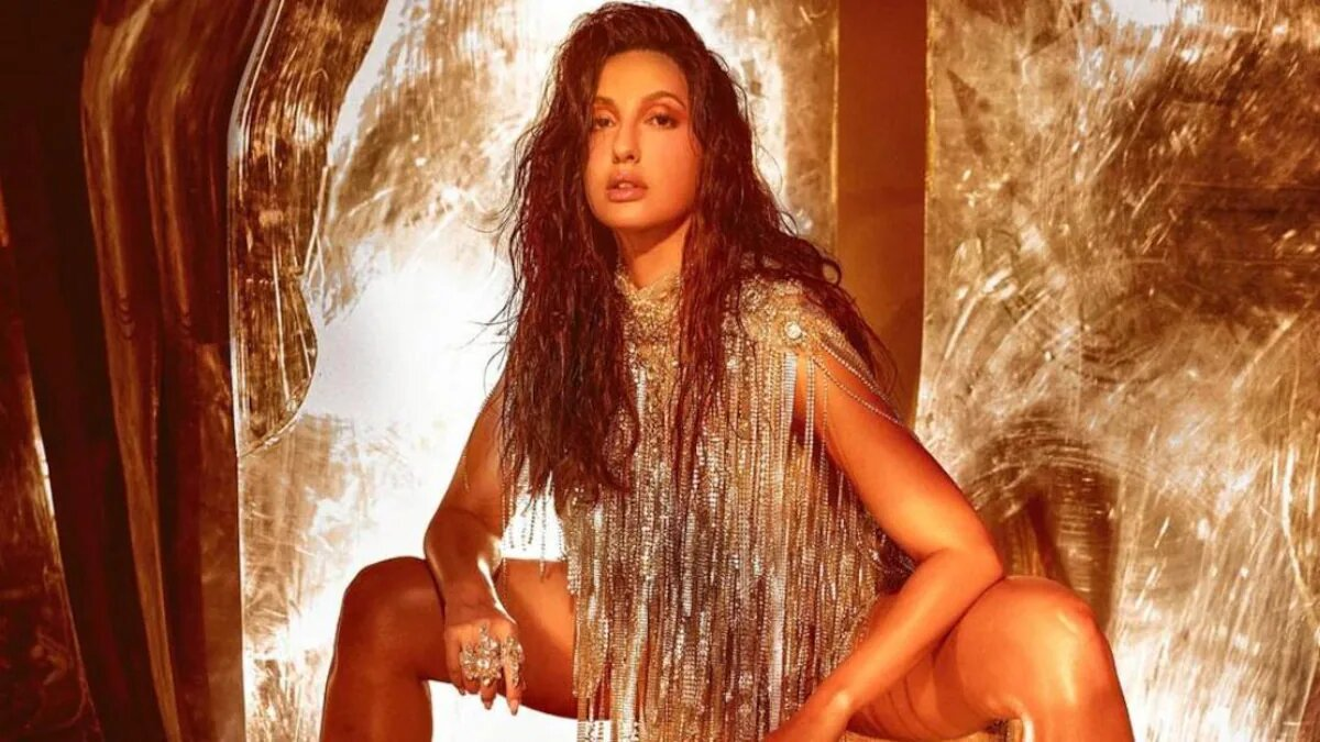 Nora Fatehi's wet-hair look sets mercury soaring