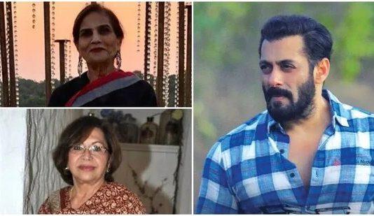 Salman shares pics with mom Salma Khan