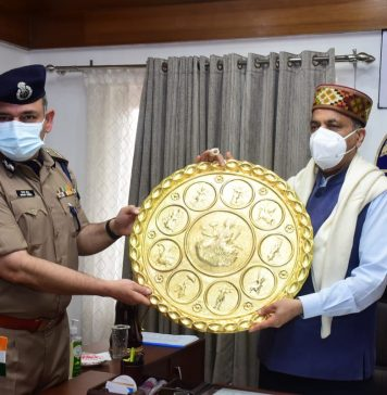 Chief Minister releases Official Video produced by HP Police
