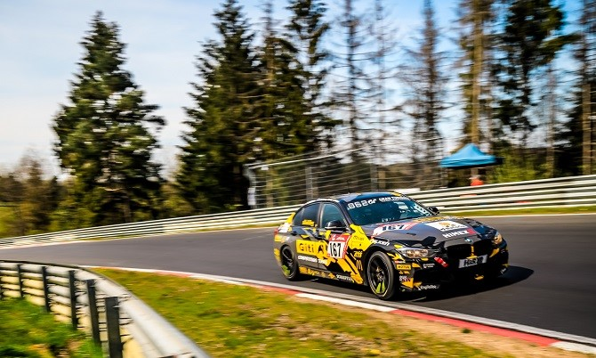 Giti Tire Motorsport All-female team celebrates their 5th Nürburgring 24-Hour Race