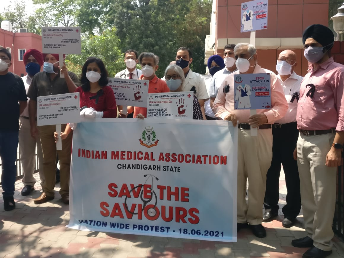 Save the saviour- nationwide protest for violence against doctors